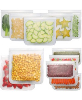 Silicone Zip Top Containers