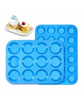 Silicone Muffin Cups Tray