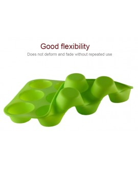 12 Hole Silicone Muffin Tray